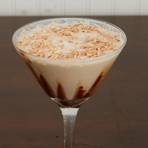 Toated Coconut Martini.