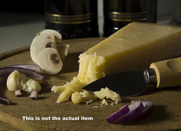 Glass Cheese Board & Cheese Knife