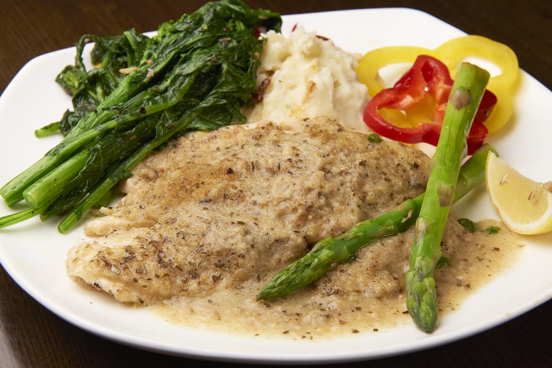 Seafood Oreganato