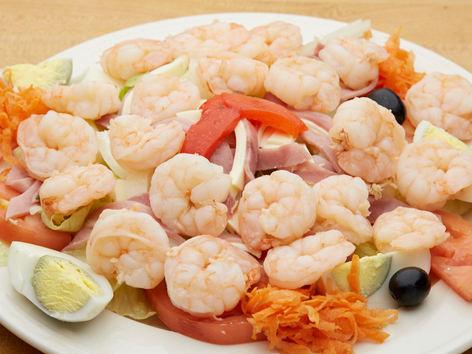 Shrimp Salad Lunch
