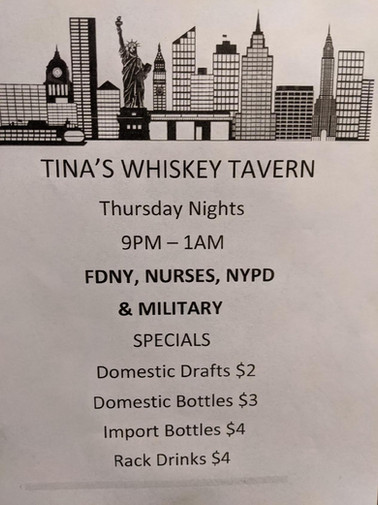 Whiskey Tavern Events
