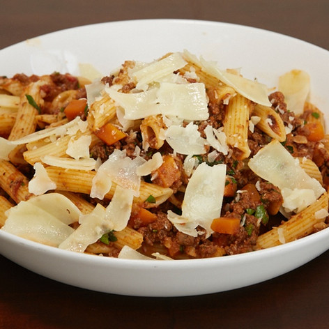 Beef Bolognese with Penne Pasta