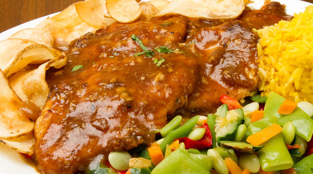 Chicken in garlic Saauce