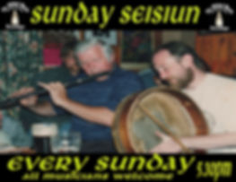 Hear SEISIUN Band every Sunday at 5:30 pm