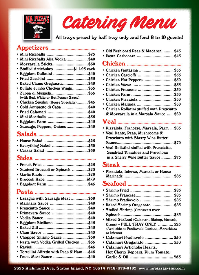 Mr Pizzas Catering Menu Ad_8x11 Ad_Nov20