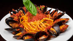 Linguine Mussels