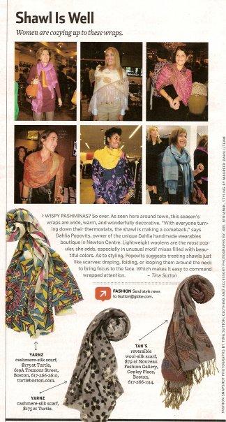 Boston Globe Style Trend
