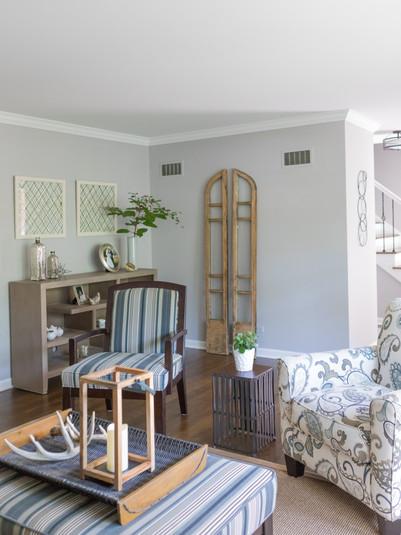 Light Comfortable Living Room