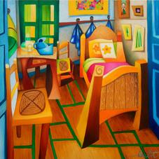 La chambre à coucher, hommage à Van Gogh
