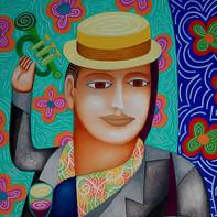 Maurizio, le trompettiste de Guadalupe