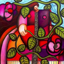 Huile sur toile, 60 x 60 cm. 2007 (collection privée)