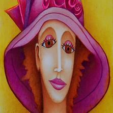 La femme pivoine