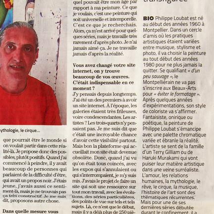 Midi Libre, 29 mars 2021