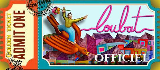ticket accuiel du site philippe Loubat