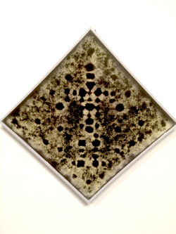 JYL RESIN PAINTING WITH IRON FILINGS