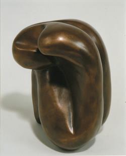 Foetal form bronze