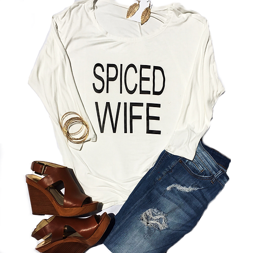 Loose Collar Spiced Blouse