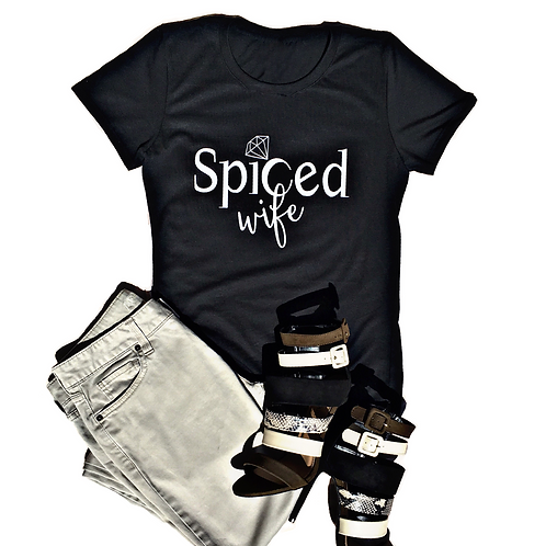 Spiced Wife T-Shirt (Black or White)
