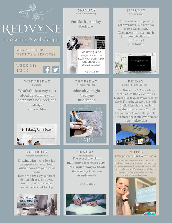RedVyne Weekly Social Media - image for