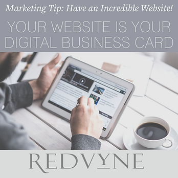 Your website is your digital business ca