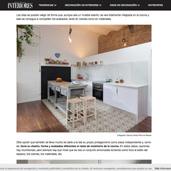 Publicación Revista Interiores