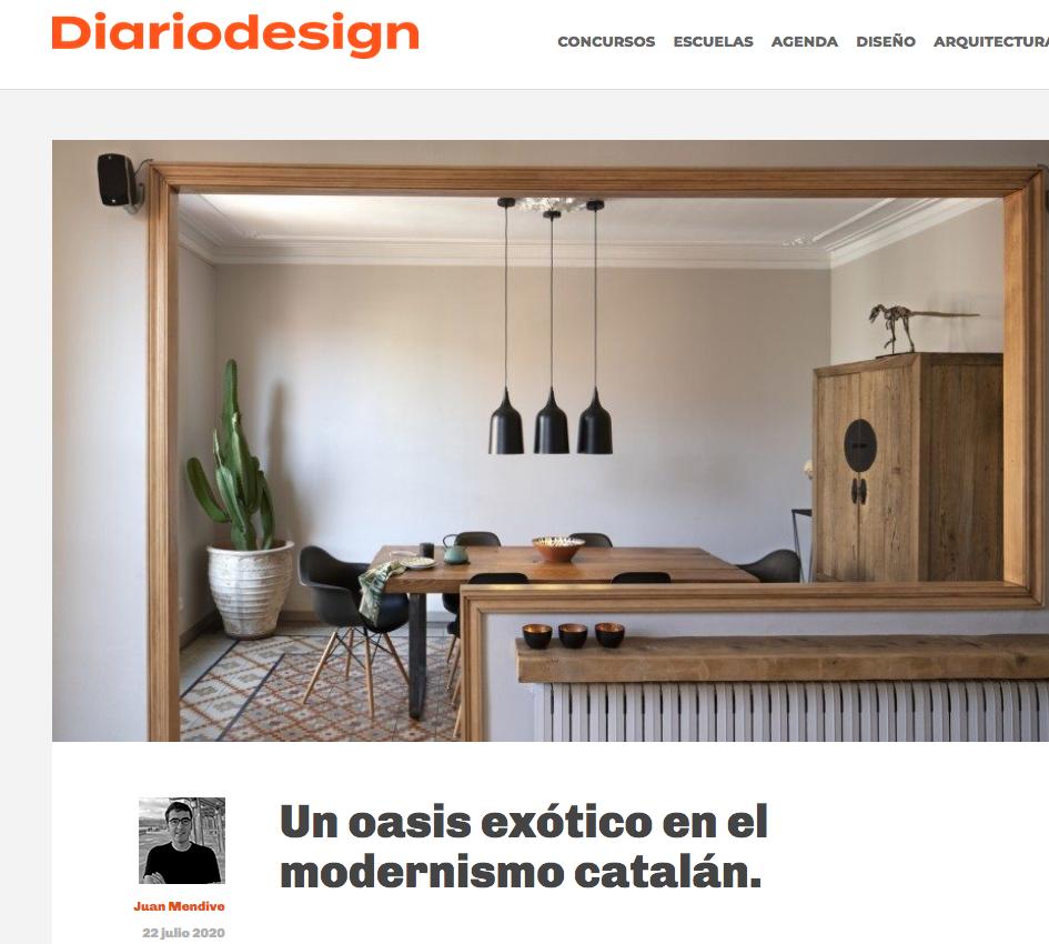 Publicación Diario Design Noe Prades -