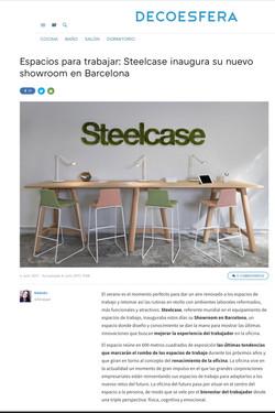 Publicación Fotografías Steelcase