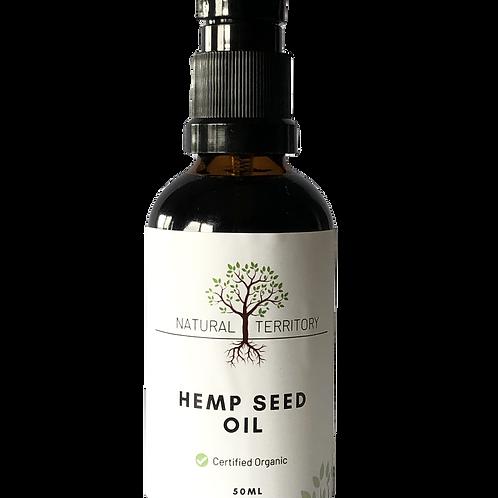 Organic Hemp Seed Oil 50ml