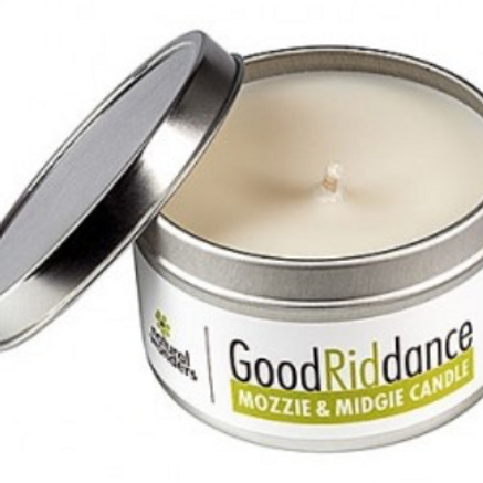Good Riddance Travel Candle