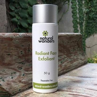 Radiant Face Exfoliant 50g