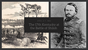 The 17th Kentucky at Shiloh