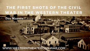 First Shot of the Civil War in the Western Theater