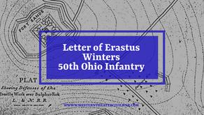 Civil War Letter - Erastus Winters