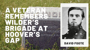 A Veteran Remembers Wilder's Brigade at Hoover's Gap