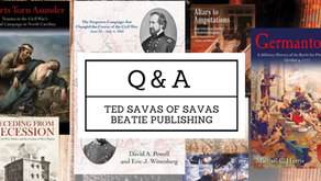 Q&A - Ted Savas of Savas Beatie Publishing