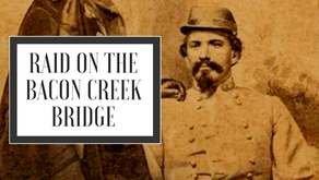 Captain John Morgan and Bacon Creek Bridge