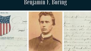 The Civil War Letters of Benjamin Boring (Part 1)