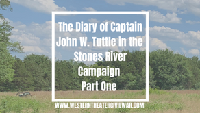 Before the Storm: The Tuttle Diary During the Stones River Campaign