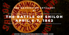 The Washington Artillery at the Battle of Shiloh