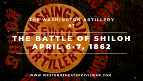 The Washington Artillery at the Battle of Shiloh