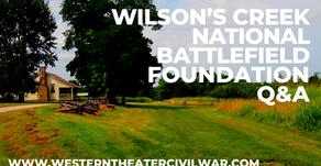 Q&A - Wilson's Creek National Battlefield Foundation