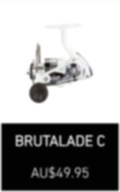 Brutalade C fishing Reel Spinning Reels