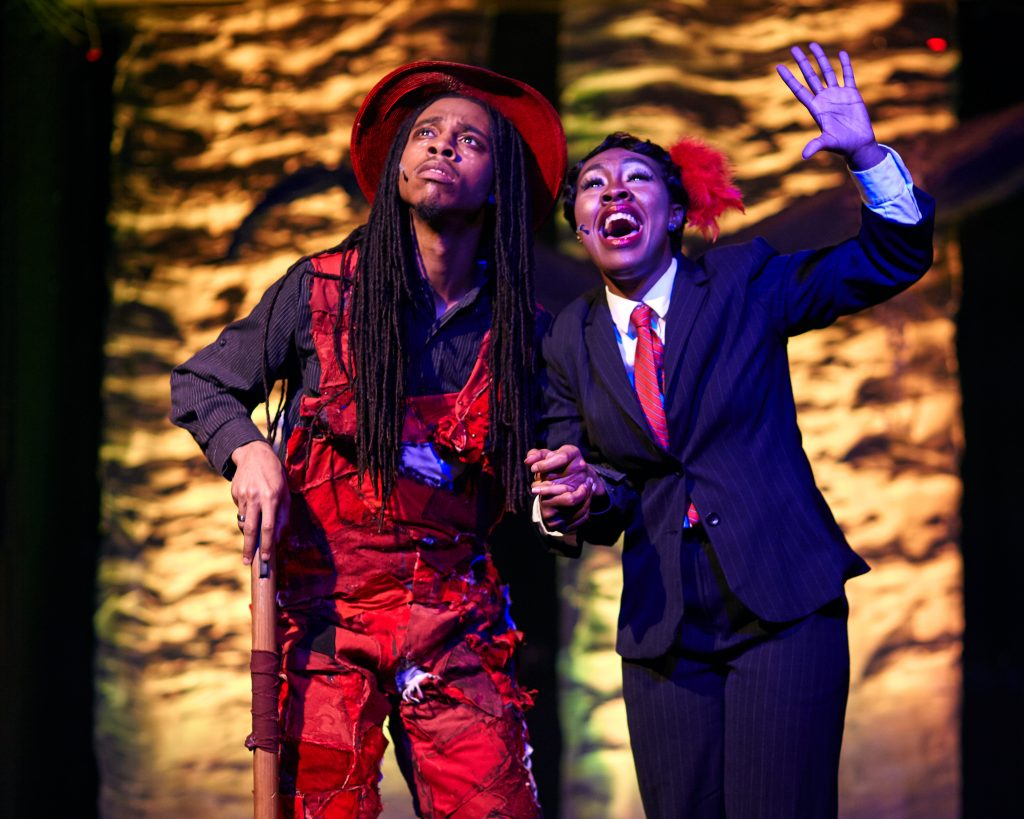 """Arena Players and Baltimore rock opera society collaborate on a biomusical double bill: """" The determ"""