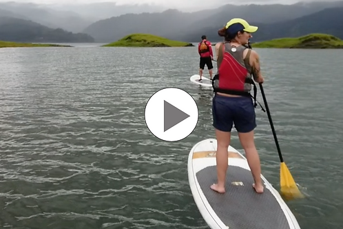 Pedal and Paddle Lake Arenal Costa Rica