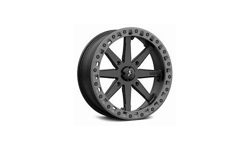 Momentum Black/Graphite Spoke Wheel