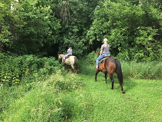 Ride Rock Ranch horsemanship lessons
