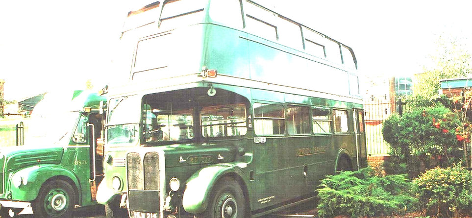 RT1702 on a goodwill tour of eight European countries to publicise the forthcoming 1951 Festival of Britain