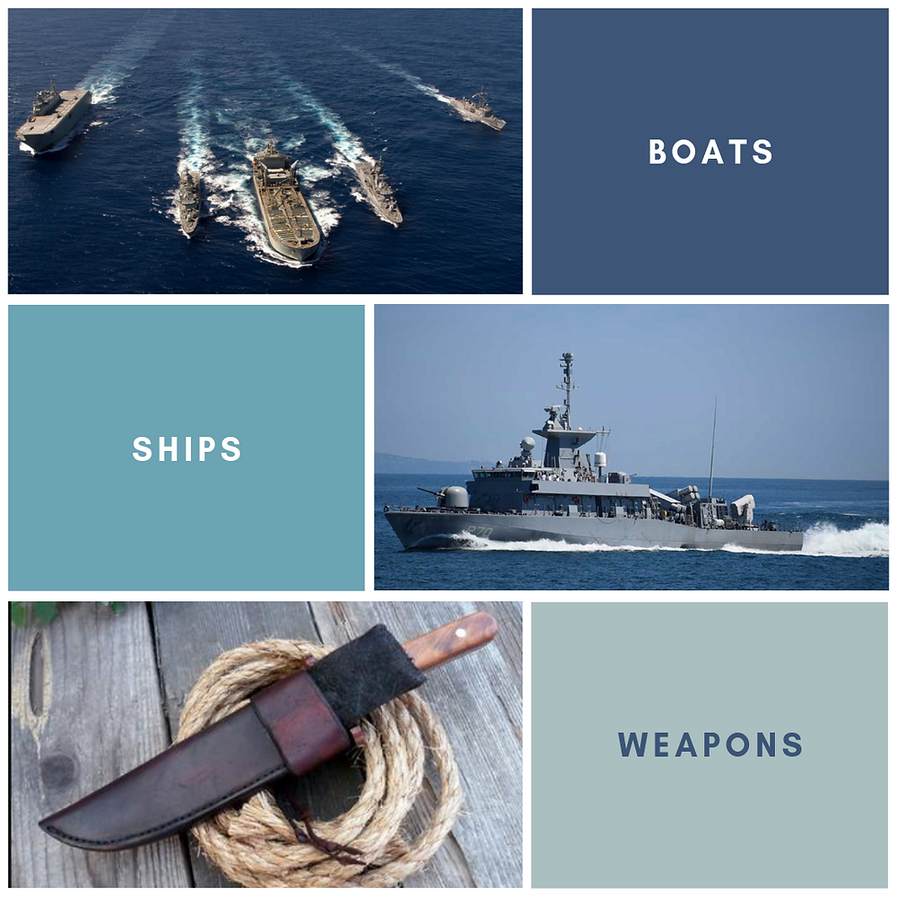 Boats and Ships and Weapons