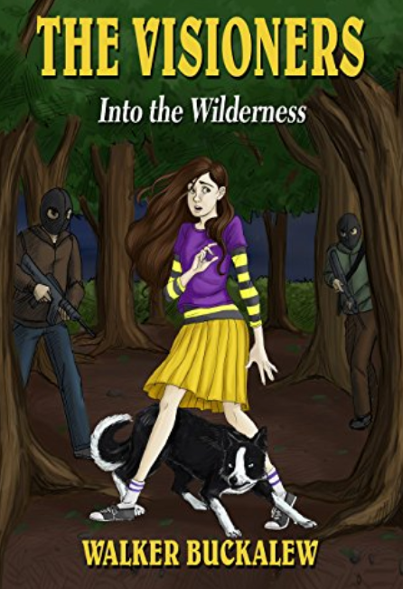 "Purchase ""The Visioners Book 1: Into the Wilderness"" at Amazon"