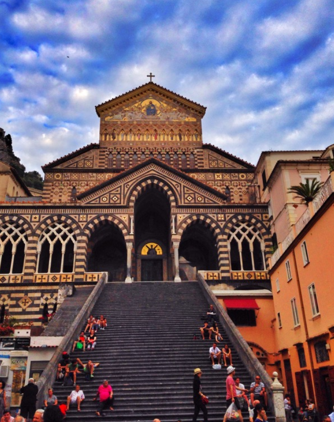 Church at Amalfi, Italy